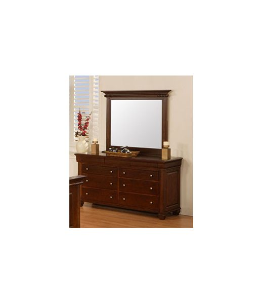 Canadiana Dresser with mirror RP9