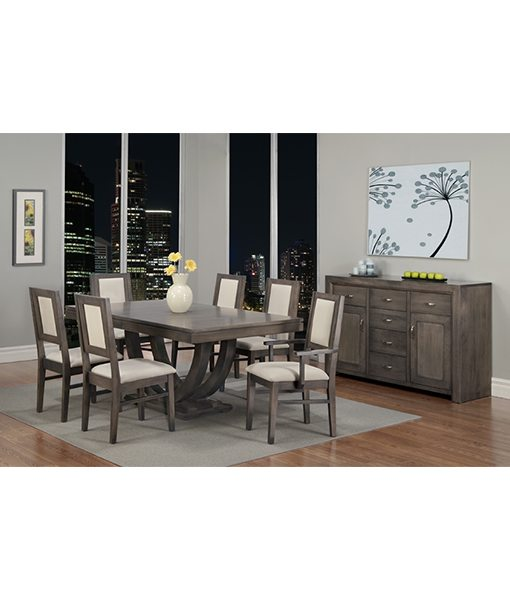 Contempo Pedestal Dining Room