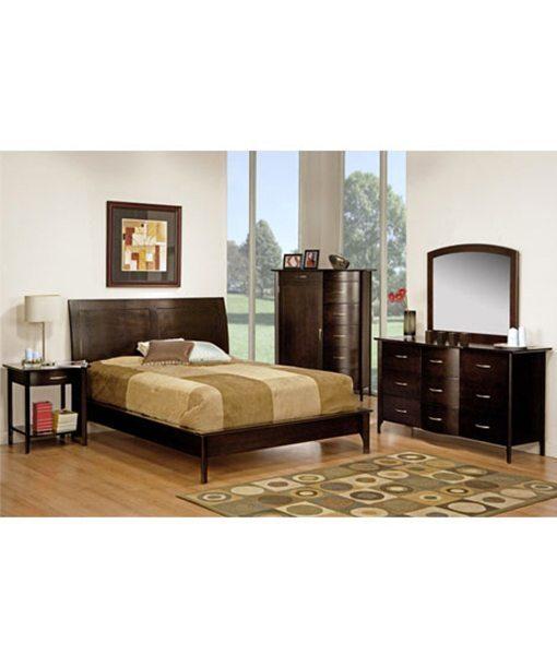 DemiLune bedroom suite