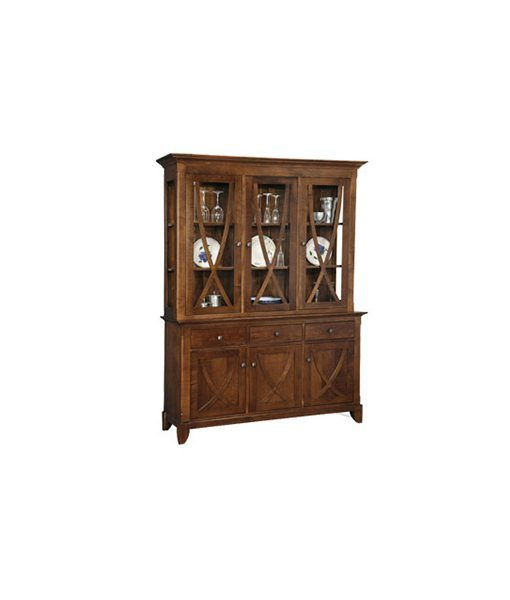 Florence 3 door buffet and hutch FL300G