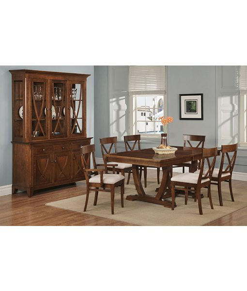 Florence Double Pedestal Dining Suite