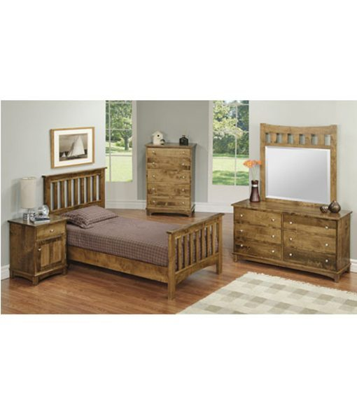 Mountain collection bedroom penwood furniture Mountain home bedroom furniture
