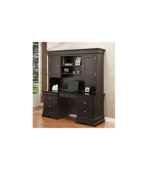 Phillippe office desk with hutch P2468