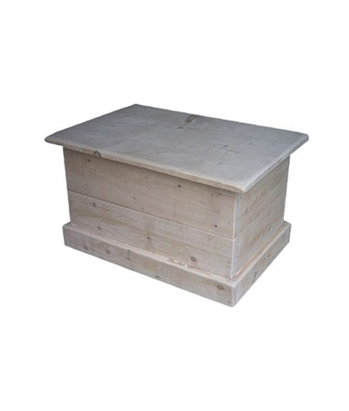 Rustic blanket box SC2435