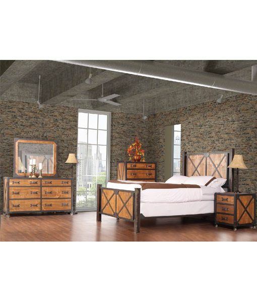 IronWorks Bedroom Set