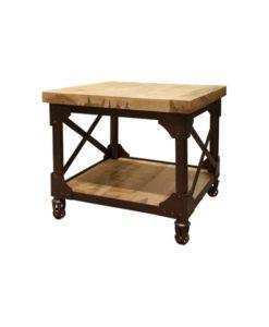 Ironwood End Table