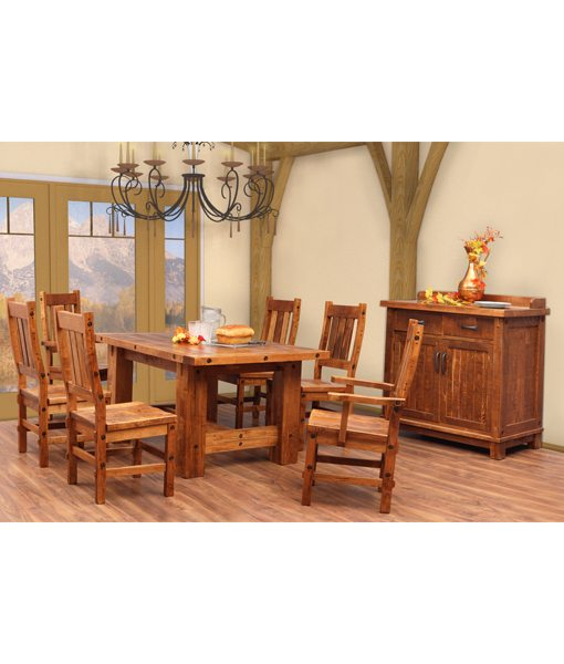 Timber Dining Room Set