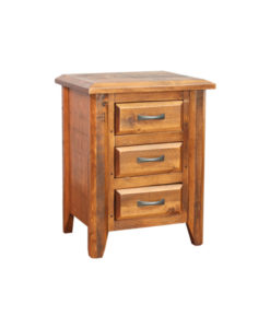 Bevel 3 Drawer Nightstand BVND2228