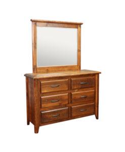 Bevel 6 Drawer Dresser BVDR5437