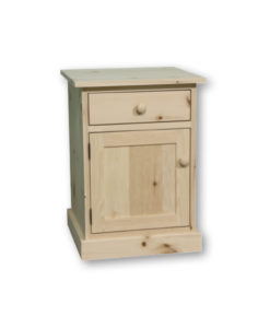 Cottage 1 Drawer, 1 Door Night Stand CT10