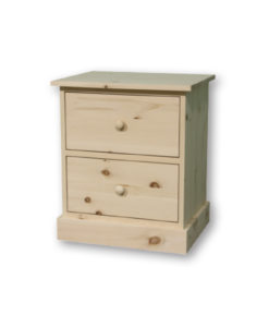 Cottage 2 Drawer Night Stand CT12