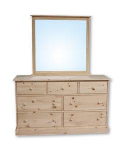Cottage 7 Drawer Dresser CT17
