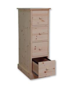 Cottage Letter Size File Cabinet CT1856