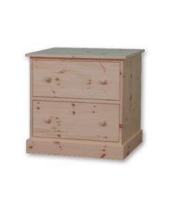 Cottage Letter Size File Cabinet CTF2