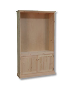 Cottage Standard Tall Bookcase with box doors CT1480D