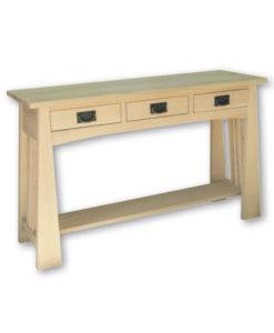 Horizon 3 Drawer Sofa Table K1648