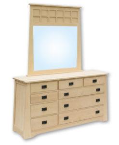 Horizon 9 Drawer Dresser S19