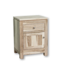 Metro 1 Drawer and 1 Door Night Stand MT1822D