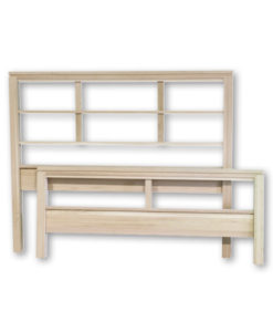 "Metro Queen-size Bed with 26½"" footboard MTQO"