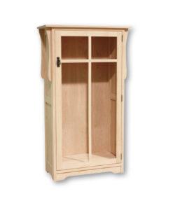 Mission 1 Door Bookcase M1534