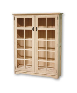 Mission 2 Door Bookcase M1446