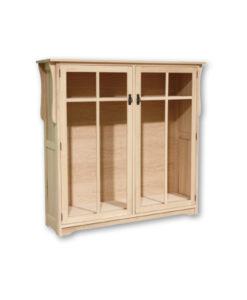 Mission 2 Door Bookcase M1561