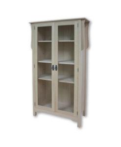 Mission 2 Door Bookcase M322