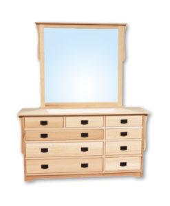Mission 9 Drawer Dresser Q19