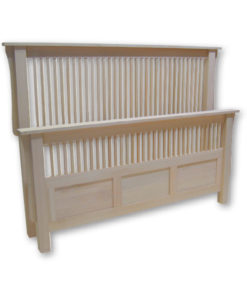 Mission Queen-size Bed 60MSPF