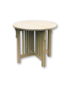Mission Round Parlor Table M3030