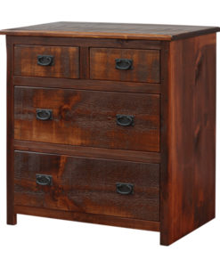 Rustic 4 Drawer Chest RDC3736