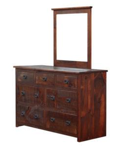 Rustic 7 Drawer Dresser RDR6237