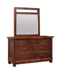 Timber Landscape 7 Drawer Dresser TDR3762