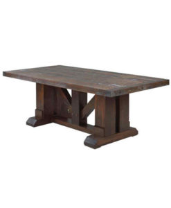 Grimshaw  rustic dining table