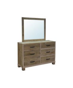 Backwoods-6-Drawer-Dresser-&-Mirror